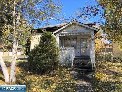 Hibbing, Chisholm Single Family Home For Sale: 2802 E 5th Ave