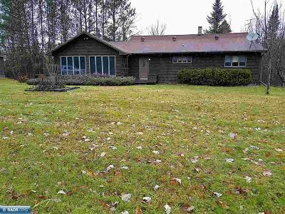 Itasca County Single Family Home For Sale: 28128 County Rd 69