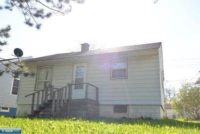 Hibbing, Chisholm Single Family Home For Sale: 1519 17th Ave