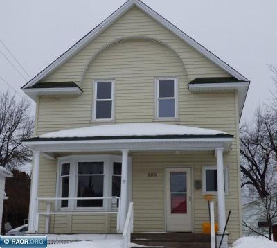 Hibbing, Chisholm Single Family Home For Sale: 309 Central Ave