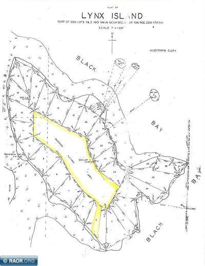 International Falls MN Residential Lots & Land For Sale: $68,900