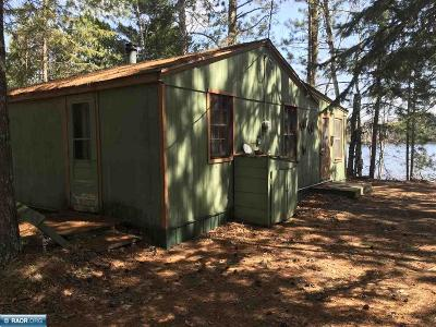 Itasca County Single Family Home For Sale: 55316 Owen Lake Campground Rd