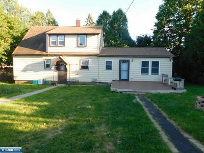 Hibbing, Chisholm Single Family Home For Sale: 314 SW 7th