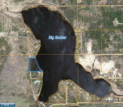 Itasca County Residential Lots & Land For Sale: N Sucker Lake Road