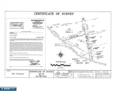 Koochiching County Residential Lots & Land For Sale: County Rd 140