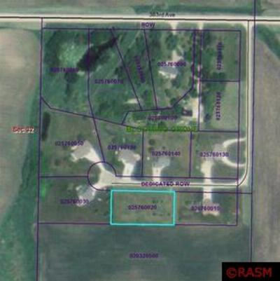 Waseca MN Residential Lots & Land Sold: $16,500