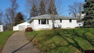 Waterville MN Single Family Home Sold: $96,500
