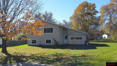 Waseca MN Single Family Home Sold: $110,000