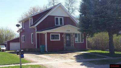 Waseca MN Single Family Home Sold: $119,000