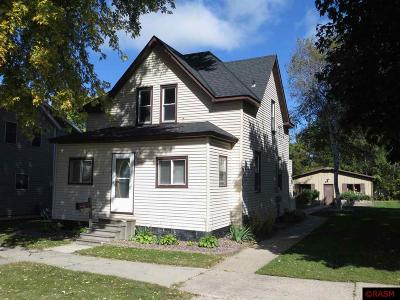 Montgomery MN Single Family Home For Sale: $89,900