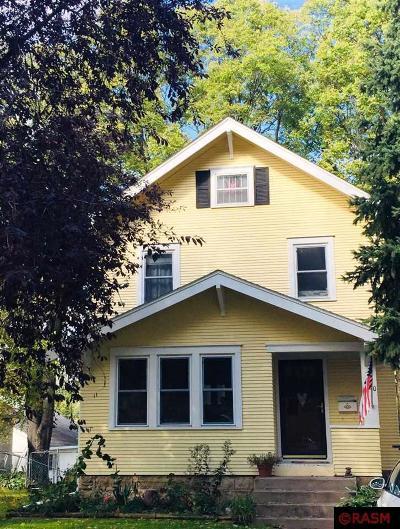 Mankato MN Single Family Home For Sale: $159,000
