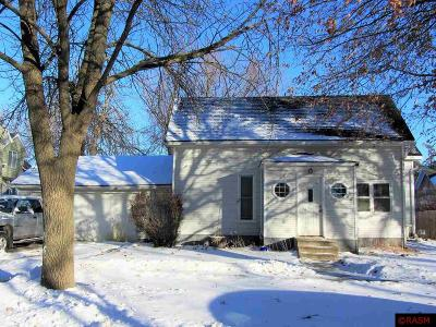 Mapleton MN Single Family Home For Sale: $124,500