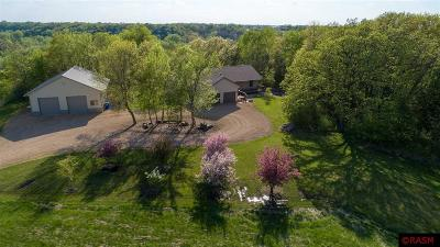 Blue Earth County, Le Sueur County, Rice County, Steele County, Waseca County Single Family Home For Sale: 19560 586th Lane