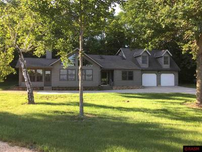 Blue Earth County, Le Sueur County, Rice County, Steele County, Waseca County Single Family Home For Sale: 60248 Jessica Drive