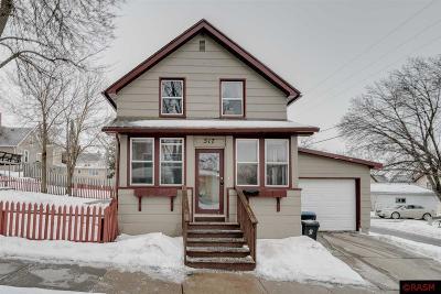Mankato MN Single Family Home Contngnt-Home Inspection: $135,000