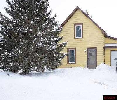 Lake Crystal MN Single Family Home For Sale: $74,900