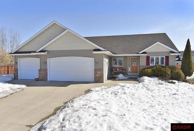 Blue Earth County, Le Sueur County, Rice County, Steele County, Waseca County Single Family Home For Sale: 111 Foxborough Court
