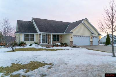 Blue Earth County, Le Sueur County, Rice County, Steele County, Waseca County Single Family Home Contngnt-Home Inspection: 313 Victoria Boulevard