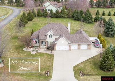 Blue Earth County, Le Sueur County, Rice County, Steele County, Waseca County Single Family Home For Sale: 160 Fairway Drive