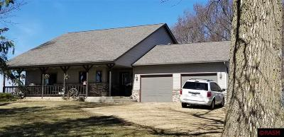 Blue Earth County, Le Sueur County, Rice County, Steele County, Waseca County Single Family Home For Sale: 361 300th Avenue