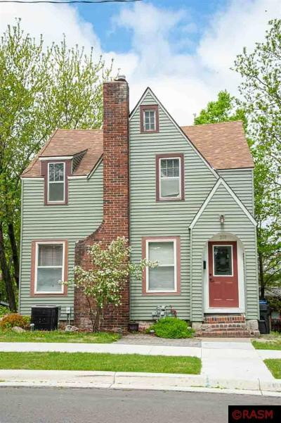 Mankato MN Single Family Home For Sale: $130,000