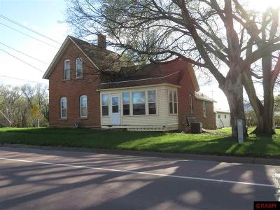 Kasota MN Single Family Home For Sale: $79,900