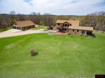 Blue Earth County, Le Sueur County, Rice County, Steele County, Waseca County Single Family Home For Sale: 57310 166th Lane
