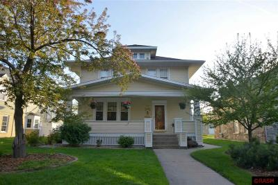 New Ulm Single Family Home For Sale: 222 State Street South