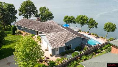 Madison Lake Single Family Home For Sale: 3802 Sioux Lane