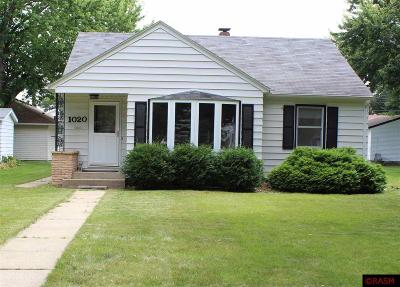New Ulm Single Family Home Contngnt-Home Inspection: 1020 N Jefferson Street