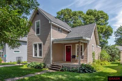 Lake Crystal Single Family Home For Sale: 222 N Lincoln Street