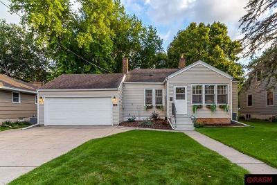 Mankato MN Single Family Home For Sale: $219,999
