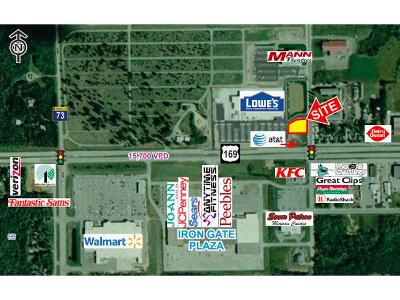 Chisholm, Hibbing Residential Lots & Land For Sale: Hwy 169 & 9th