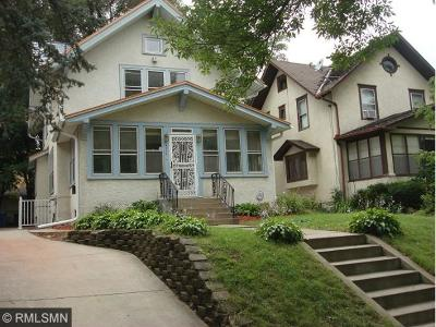 Single Family Home For Sale: 4114 Blaisdell Avenue