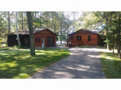 Crosslake Single Family Home For Sale: 14932 Wolf Trail