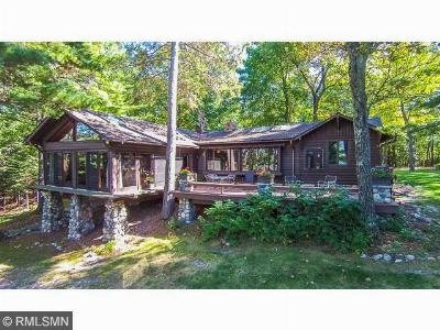 Crosslake Single Family Home For Sale: 12634 Anchor Point Road