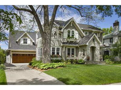 Edina Single Family Home Sold: 4512 Drexel Avenue