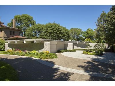 Minneapolis Single Family Home Sold: 1700 Mount Curve Avenue