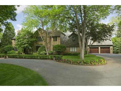 Edina Single Family Home Sold: 4905 Rolling Green Parkway