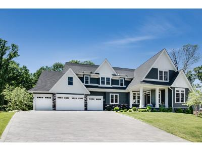 Plymouth Single Family Home Sold: 5445 Black Oaks Lane N