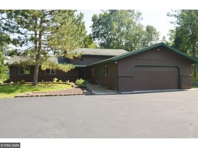 Crosslake Single Family Home For Sale: 15473 Wilderness Trail
