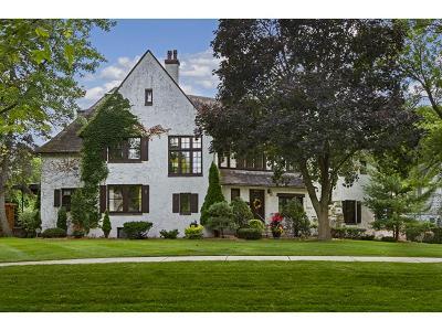 Edina Single Family Home Sold: 4600 Browndale Avenue