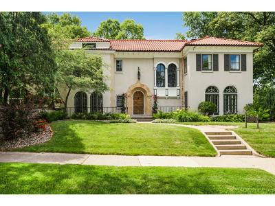 Minneapolis Single Family Home Sold: 4888 W Lake Harriet Parkway
