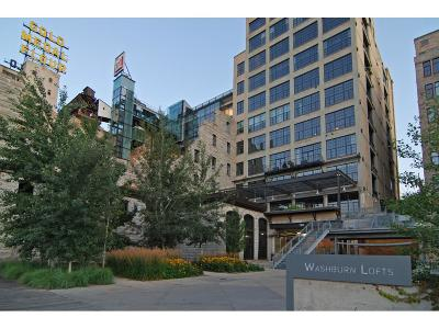 Minneapolis Condo/Townhouse Sold: 700 S 2nd Street #W100