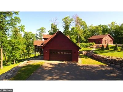 Crosslake Single Family Home For Sale: 38277 Moccasin Drive