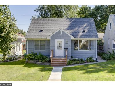 Hennepin County Single Family Home Sold: 5409 44th Avenue S