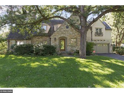 Edina Single Family Home Sold: 4708 Townes Road