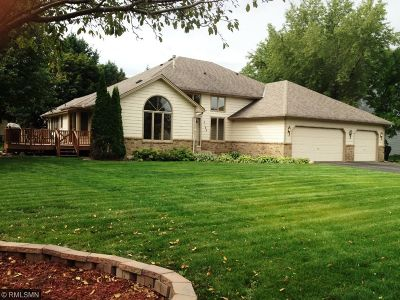 Andover MN Single Family Home Sold: $300,000