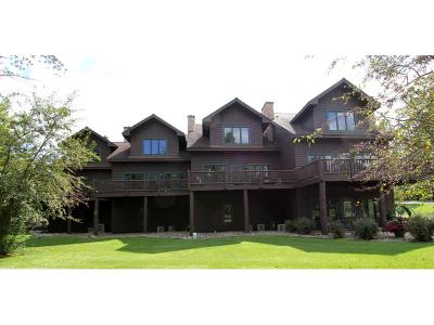 Nisswa Condo/Townhouse For Sale: 4044 Golf Villas Circle