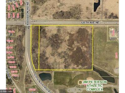Blaine Residential Lots & Land For Sale: SE Corner Of Radisson Rd Ne & 125th Ave Ne